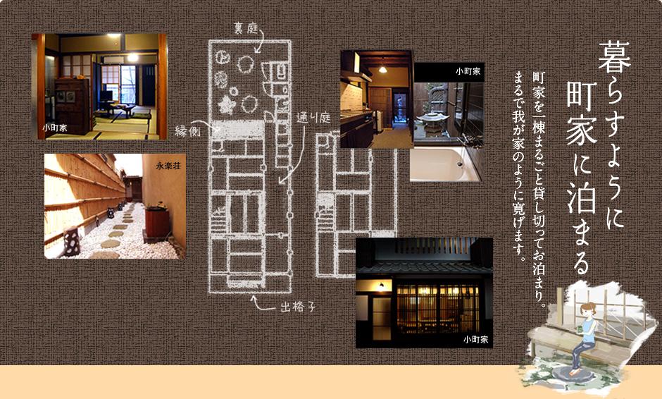 暮らすように町家に泊まる 町家を一棟まるごと貸し... 暮らすように「町家」に泊まる | 京都で