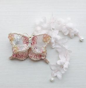 蝶の髪留め  x   生誕300年記念 伊藤若冲展(相国寺承天閣美術館)