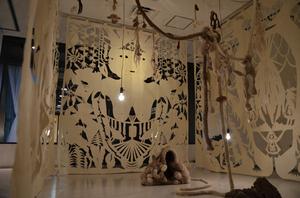 「WPS 京都美術の130年」展示風景(谷澤紗和子)